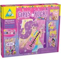 Sticky Mosaics Girls Rock