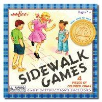 Outdoor Fun Sidewalk Games Set