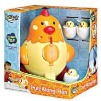 Pull Along Hen