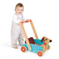 Crazy Doggy Toddler Push Cart