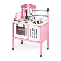 Pink Play Kitchen & Accessories Deluxe Maxi Cuisine Set