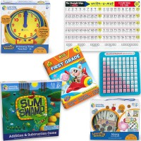 1st Grade Math Readiness Learning Toys Set for 5-7 Years