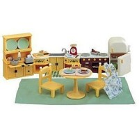 Kozy Kitchen Set - Calico Critters Furniture