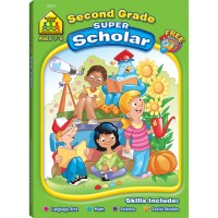 2nd Grade Kids Super Scholar 128 Pages Workbook