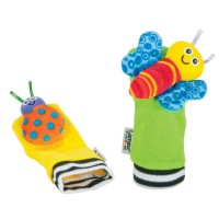 Lamaze Baby Foot Finders Bugs Rattle Set
