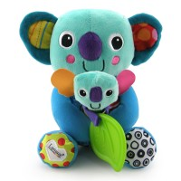 Lamaze Cuddle and Squeak Koalas Baby Soft Toy Set