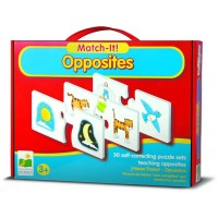 Opposites Match It! Learning Puzzle