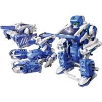 T3 Transforming Solar Robot 3 Models Building Set