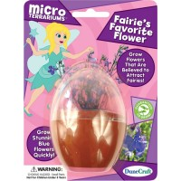 Fairies' Flowers Micro Terrarium Mini Plant Kit