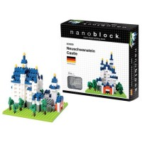 Nanoblock Building Set - Neuschwanstein Castle