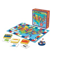 Great States Jr. US Map Board Game