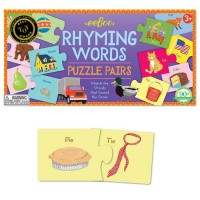 Rhyming Words Learning Puzzle Pairs Game