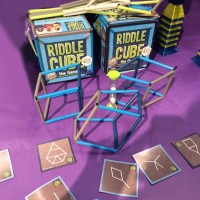 Riddle Cube 3D Shape Challenge Game