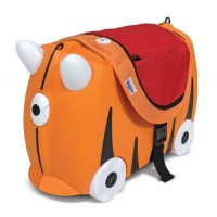 Saddle Bag for Trunki Suitcase Ride-On - Orange and Red