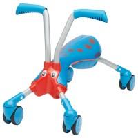 Toddler Folding 4 Wheel Bike - Blue & Red Scramble Bug