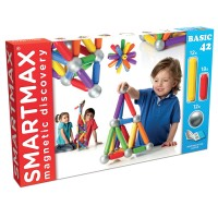 Smartmax Basic 42 pc Magnetic Building Set
