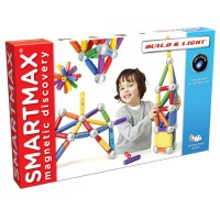 Smartmax Build & Light Magnetic Building Set