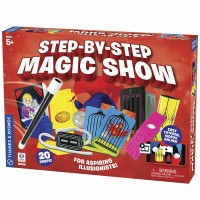 Step by Step Magic Show 20 Tricks Magic Kit