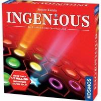 Ingenious Hexagonal Tile Strategy Game