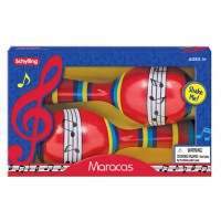 Maracas Musical Instrument Toy - 2 Tin Pieces