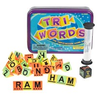 Tri-Words Word Scrambling Game