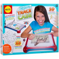 Light Up Trace Case Drawing Toy