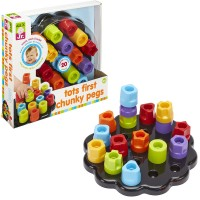 Tots First Chunky Pegs Stacking Toy