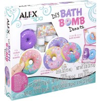 DIY Bath Bomb Donuts Girls Spa Craft Kit