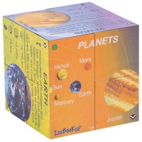 Planets & Solar System Stats Fold-Out Cube Book