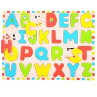 Uppercase Alphabet Inset Puzzle