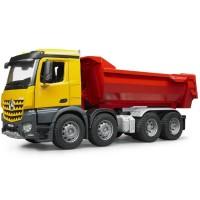 Bruder MB Arocs Halfpipe Dump Truck Toy Vehicle