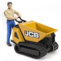Bruder Construction JCB Dumpster and Construction Worker Set