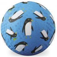 Penguins 7 Inch Blue Play Ball