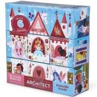 Little Architect Jumbo Building Blocks Girl Builders Set