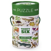 36 Sharks 100 pc Jigsaw Puzzle in a Gift Canister