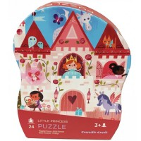 Little Princess Castle 24 pc Puzzle in in Shaped Gift Box