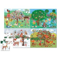Four Seasons 24 pc Giant Floor Puzzle