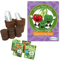 Grow Your Own Organic Veggies Classroom Plant Kit