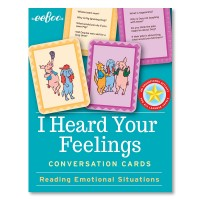 I Heard Your Feelings Social Skills Flash Cards