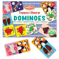 Things I Know Dominoes Preschool Travel Game