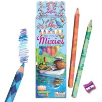 Boat Ride Blended Color 6 Jumbo Pencils Tri-Color Mixies Set