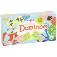 Preschool Picture Dominoes Matching Game