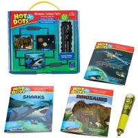 Hot Dots Jr. Ultimate Science Facts Interactive Set with Electronic Pen