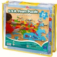 USA Map Foam Puzzle