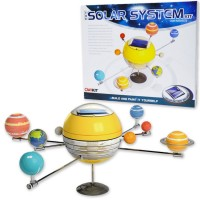 Solar System Solar Power Motorized Model Craft
