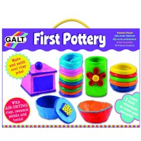 First Pottery Air Dry Clay Craft Kit