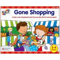 Gone Shopping Preschool Memory Game