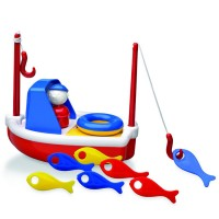 Fishing Boat Toddler Bath Toy