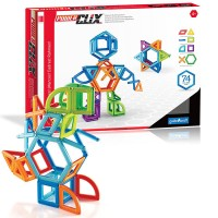 PowerClix 3D Magnetic 74 pc Building Kit