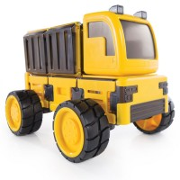 PowerClix 3 in 1 Wireless Construction Vehicles Magnetic Building Set